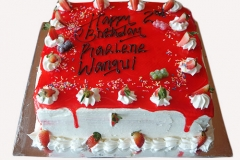 Strawberry Gateau Cake